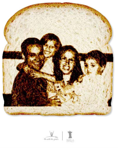 The Bread Art Project: Grain Foods Foundation & Share Our Strength