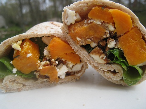 Post image for Sweet Potato Wrap