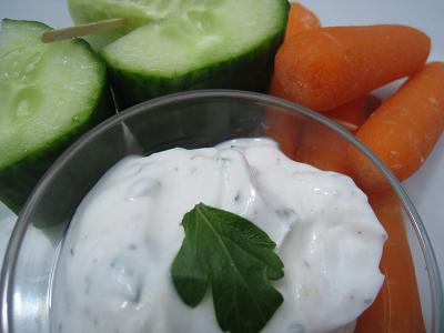 Creamy Greek Yogurt Dip