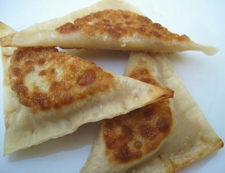 Jalapeno Hummus Ravioli