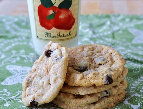 Whole Wheat Pastry Flour Cookies