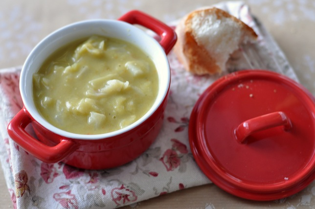 Cabbage Split Pea Soup: A True Winter Comfort Food