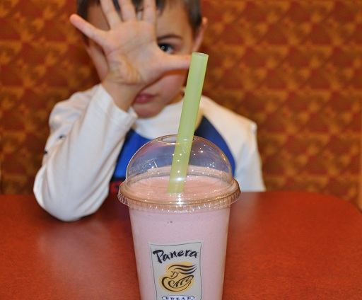 Friday Night Lights at Panera Bread (Plus, Thai Chicken Salad and A Smoothie)