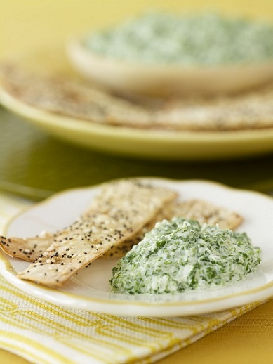 Post image for Skinny Dips: Skinny Parmesan Spinach Dip