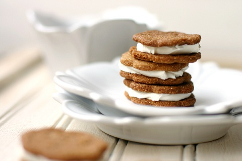 ... Graham Cracker Cookie Sandwiches — Savor The Thyme - Food, Family