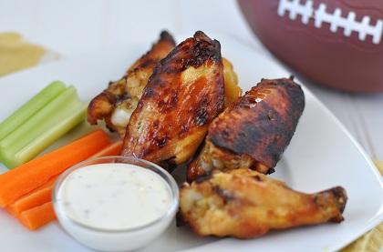 Post image for Super Bowl Recipes Part 2: Sweet-n-Tangy Baked Honey Mustard Wings