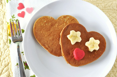 Post image for Sweet Potato Pie Pancakes for Valentine's Day