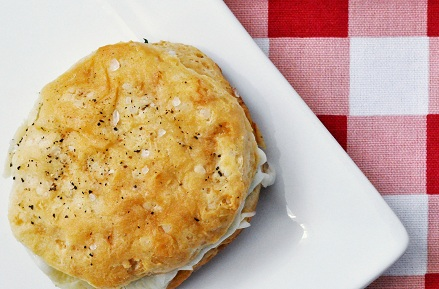 Post image for Chicken Cordon Bleu Buttermilk Biscuits Recipe
