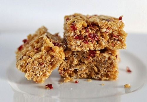 Chewy Sunflower Seed Butter, Oats, Dried Cherry & Honey Brown Rice ...