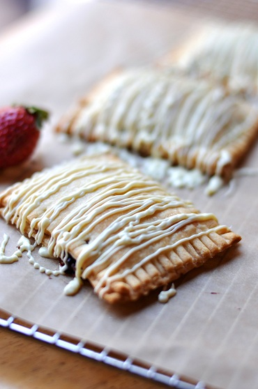Post image for Nuttier Than Charlie Sheen: Homemade Nutella Strawberry White Chocolate Pop Tarts