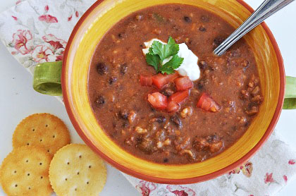 Post image for Food Matters: An Evening with Mark Bittman & Black Bean and Rice Soup