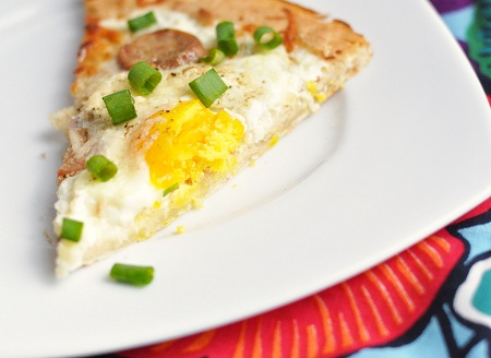 My Fitness Routine & Egg and Chicken Sausage Breakfast Pizza