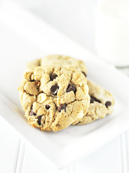 Post image for The BEST Triple Chocolate Chip Homemade Cookie Recipe Ever!