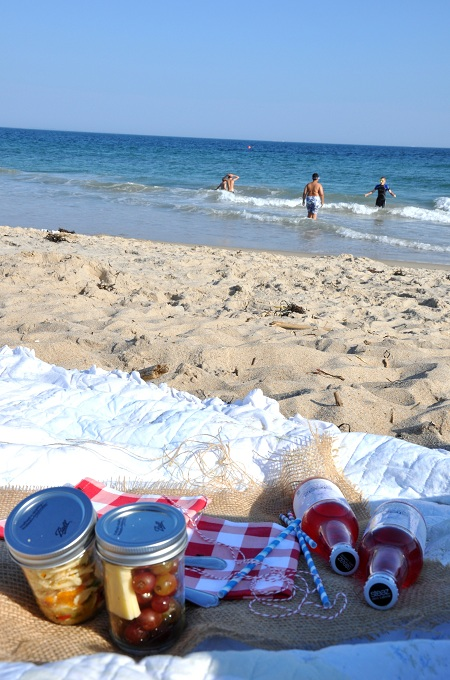 Post image for Beach Picnic in A Jar