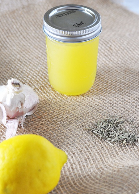 Garlic, Lemon & Rosemary Infused Olive Oil — Savor The Thyme - Food ...