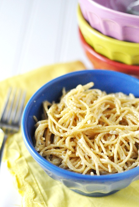 Post image for Homemade Stovetop Spaghetti 'Mac' and Cheese Recipe
