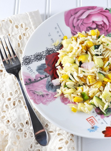 ... orzo salad corn zucchini and spinach zucchini and quinoa salad orzo