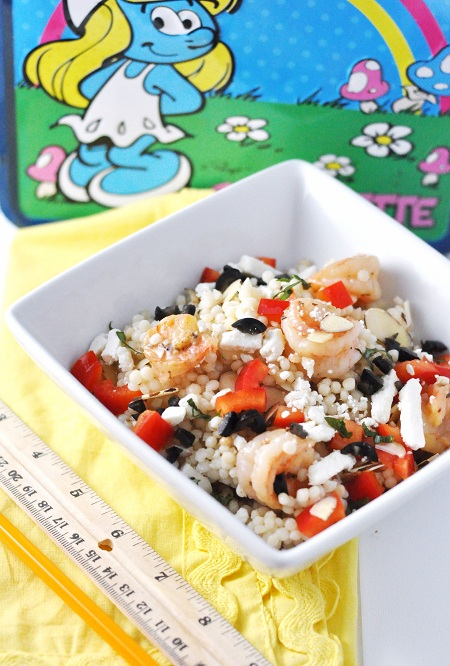 Post image for Teacher's Pet Greek Shrimp and Isreali Couscous Salad