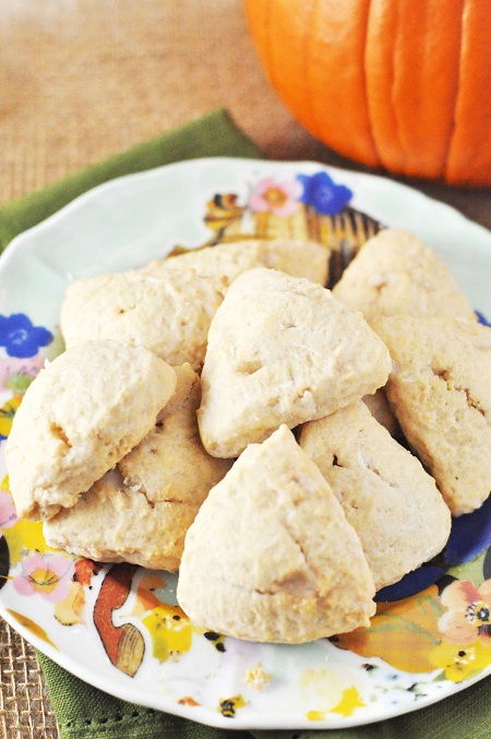 Post image for Cinnamon Vanilla Scones Recipe