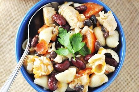 Kitchen Play: Portuguese Inspired Chicken & Bean Stew