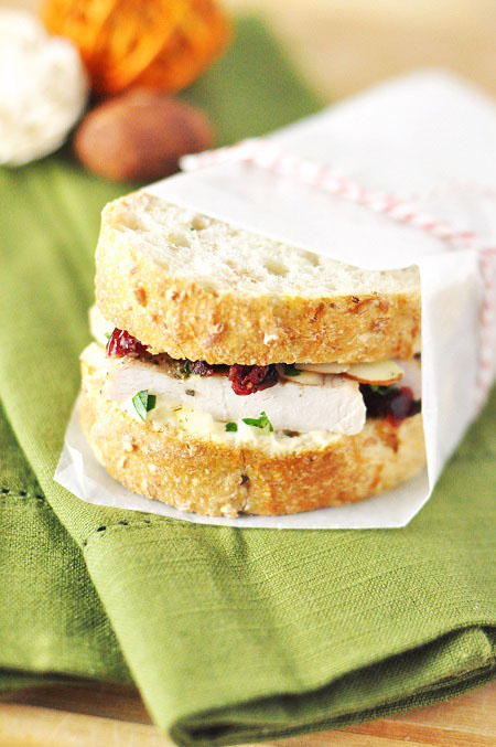Post image for Thanksgiving Leftovers: Sicilian Waldorf Turkey Salad Sandwich