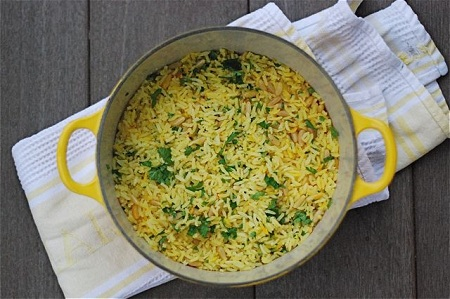 10 Things You Didn't Know About Me with The Naptime Chef & Baked Saffron Rice