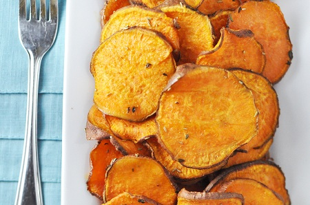 Baked Sweet Potato Fries — Savor The Thyme - Food, Family and ...