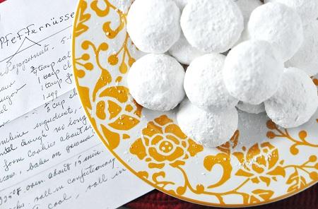 Homemade christmas gifts german pfeffernusse cookies recipe pfeffernusse forumfinder Choice Image