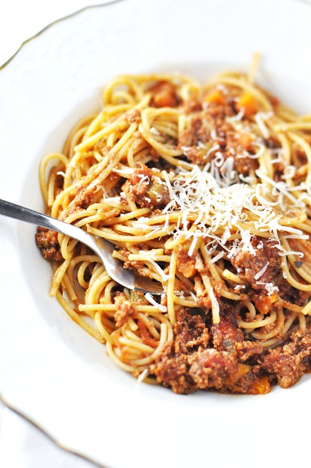 Post image for Slow Cooker Bison Bolognese & The Slow Cooker Challenge