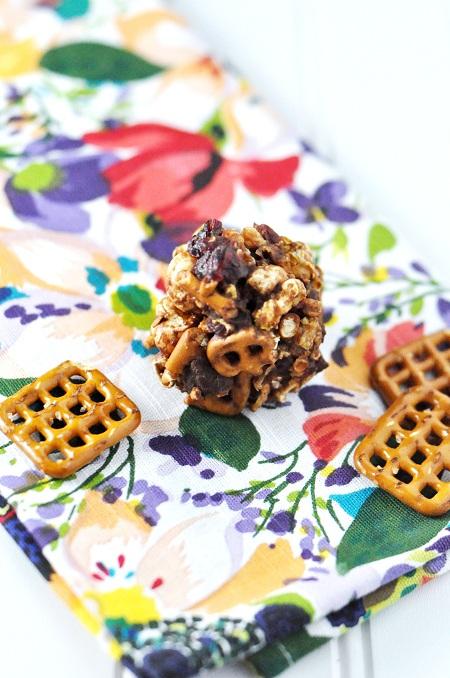 Toffee-Almond Popcorn Balls Recipes — Dishmaps