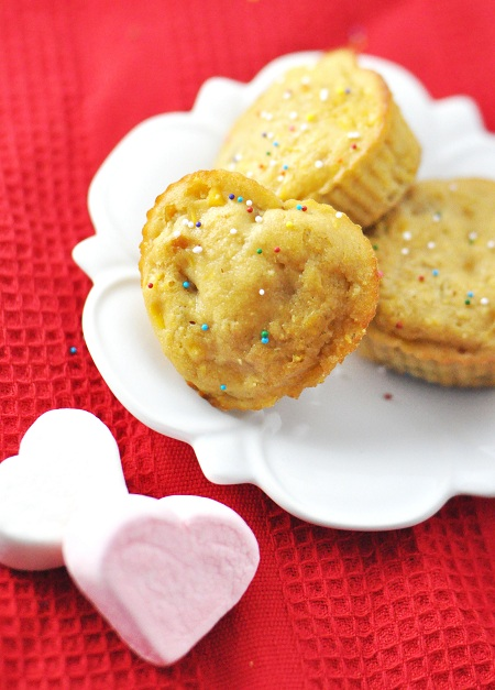 Post image for Heart Shaped Valentine's Corn Muffins Recipe with Orange & Chilies
