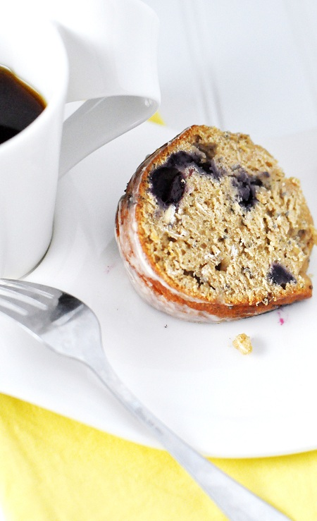 Post image for Banana Blueberry Chia Seed Bundt Cake with Coffee Glaze & Bob's Red Mill Giveaway