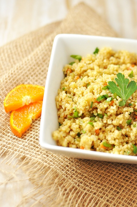 Post image for Basic & Simple Vegan Quinoa Pilaf