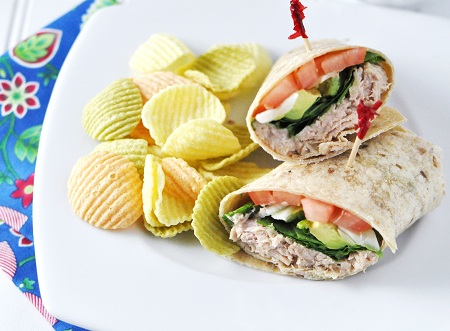 ... Tuna & Avocado Wrap — Savor The Thyme - Food, Family and Lifestyle