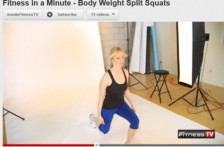 Post image for Backside Challenge #11 : Body Weight Split Squats