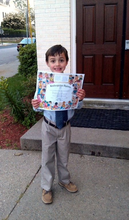 Post image for Wordless Wednesday – Kindergarten Graduation
