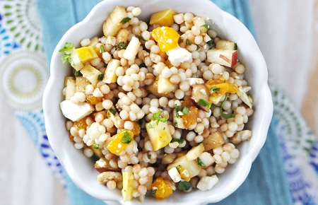 CVS ExtraCare Rewards: Purse to Plate featuring Israeli Couscous Salad with Oranges, Squash, Feta & Apple