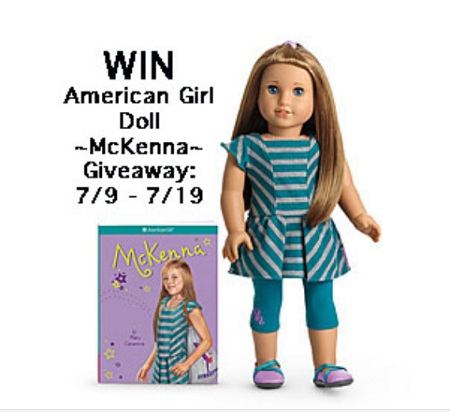 Post image for Win the American Girl Doll of the Year McKenna!