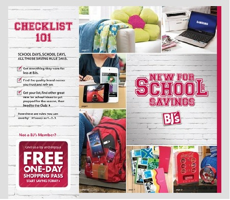Post image for BJ's Back to School Blogger Tour