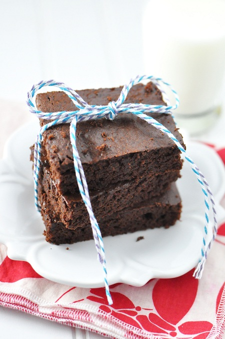 Post image for Black Bean Semisweet Chocolate Brownies with Melissa D'Arabian