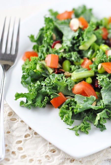 Post image for Kale & Edamame Salad: A Vegan & Gluten Free Delight
