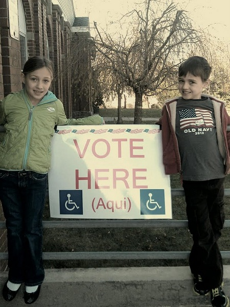 Post image for A Day In The Life: Taking the Kids to Vote for Election 2012
