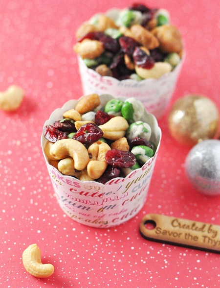 Post image for Homemade Christmas Gift Idea: Sweet & Spicy Wasabi Trail Mix