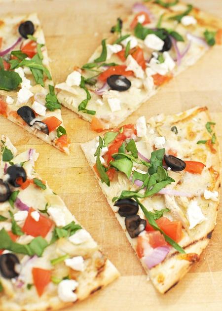 Greek Chicken Pizza Recipe 2
