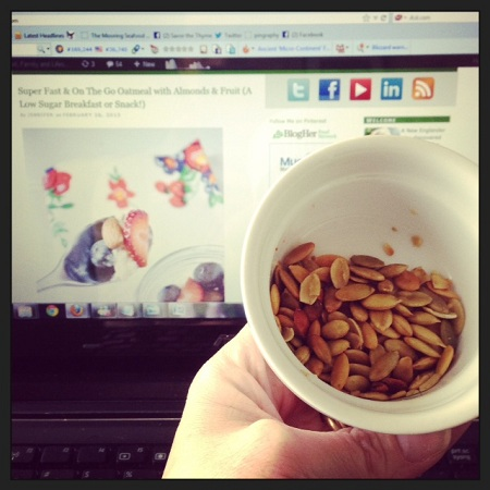 A Day In The Life: Seeds, Sore Arm and Hansen's Soda