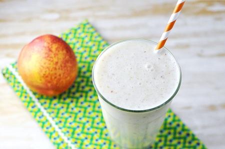 Peaches and Cream Smoothie