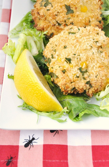Post image for Baked Clam & Corn Cakes: A Healthier Fritter