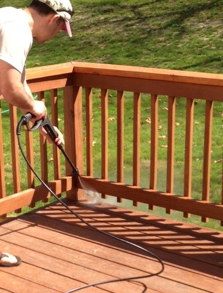 A Day In The Life: Deck Staining Supplies