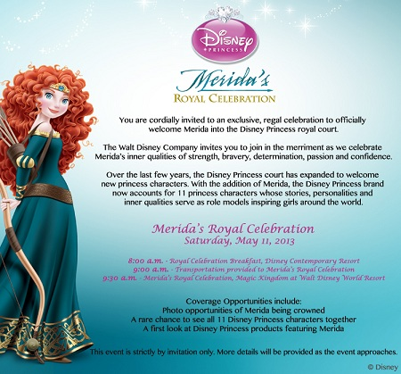 A Day In The Life: Disney Social Media Moms at Merida's Princess Coronation
