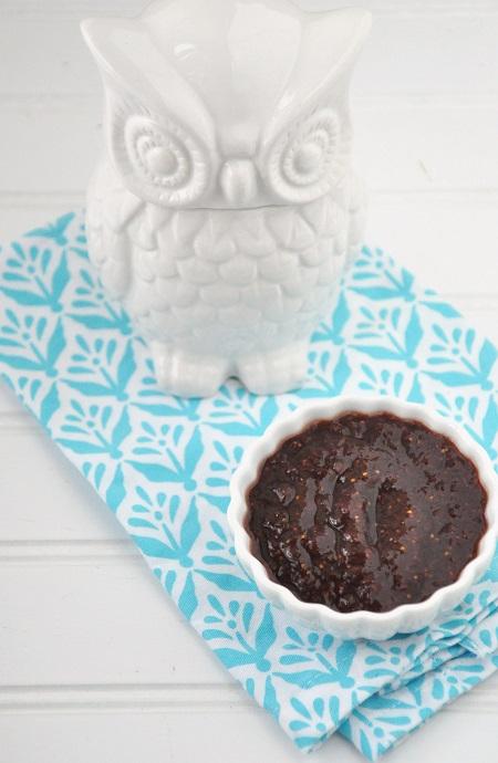 Fig & Balsamic Glaze Recipe: Delicious over Turkey!